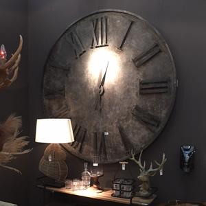 Large wall clock - Autumn Spring Fair 2021 at the NEC